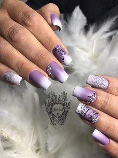 Gorgeous Nails, Love Nails, Pretty Nails, Classy Nails, Nail Inspo, Claws, Nail Ideas, Hair And Nails, Ideas Para