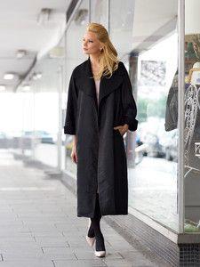 burda style: Damen - Langgrößen - Jacken & Mäntel - Mantel - wadenlang, verschlusslos