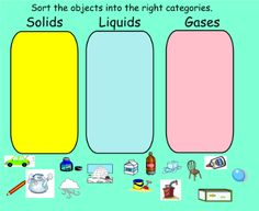 SMART Exchange - USA - Sorting Solids, Liquids, and Gases