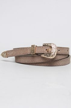 #misskl #winyourpin   The Tattoo You Leather Belt in Green and Brown by *Accessories Boutique