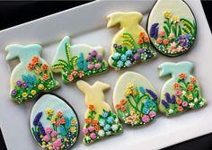Spring Cookie Garden