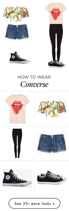 """""""Summer looks"""" by arifannn on Polyvore featuring Isolda, MadeWorn, J.Crew and Converse"""