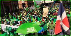 """Marcha Verde denuncia existencia """"delincuencia política"""" en Gobierno peledeista"""
