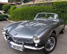 1957 BMW 507 Maintenance/restoration of old/vintage vehicles: the material for new cogs/casters/gears/pads could be cast polyamide which I (Cast polyamide) can produce. My contact: tatjana.alic@windowslive.com