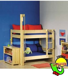 toddler bunk...must do for boys within the next year