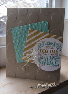 Big Day Sale-a-bration stamp set from Stampin' Up! on Seeing Ink Spots