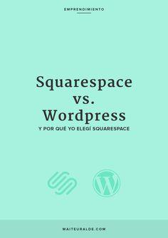 Wordpress vs Squarespace: cuál es mejor