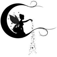 fairy silhouette garden - Google Search