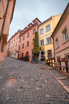 Colorful row of houses in the Old Town of Bratislava Yosemite National Park, National Parks, Portugal, Scenic Photography, Night Photography, Landscape Photography, Military Cemetery, Visit Prague, Bratislava Slovakia
