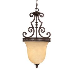 Foyer - Knight 3 Light Bell Pendant
