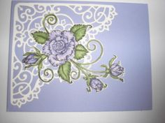 Lavender Rose by Nan Cee's - Cards and Paper Crafts at Splitcoaststampers