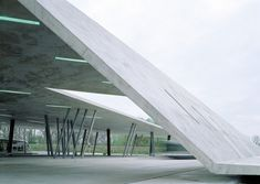Terminus Hoenheim-Nord Strasbourg France By Zaha Hadid Architects via arthitectural