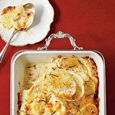 Hearty Thanksgiving Casseroles: Fennel-and-Potato Gratin