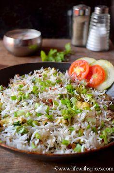 Burnt Garlic n Broccoli Rice