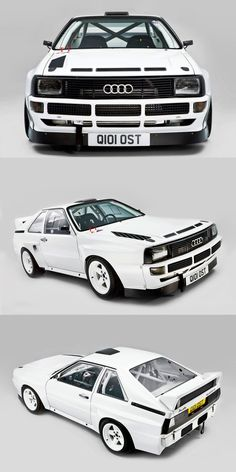 1985 Audi Sport Quattro S1 / Germany / white / 17-412 / group B