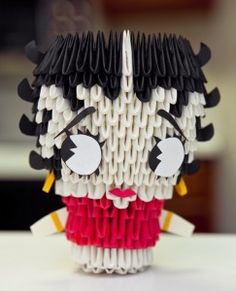 3D Origami Betty Boop