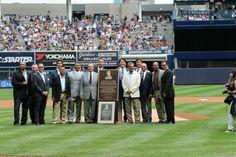 A few Legends come to Yankee stadium to help Celebrate Joe Torre Day  #joetorreday  #yankees #bronxbombers