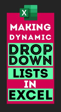 Making Dynamic Drop-down lists in Spreadsheets Microsoft Excel Formulas, Microsoft Applications, Technology Hacks, Computer Technology, Excel For Beginners, Computer Help, Computer Tips, Data Validation, Excel Hacks