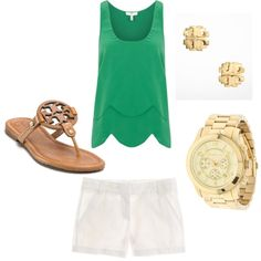 """""""green"""" by sarahrh4 on Polyvore"""