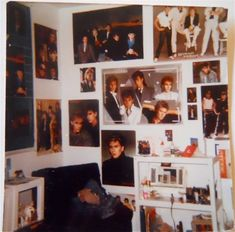 my bedroom was similar to this in the 80s...The Fab 5...Duran Duran