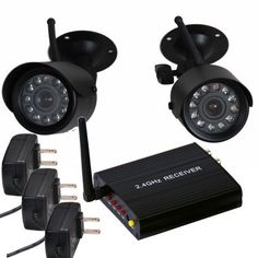 VideoSecu 4 CH Wireless Audio Video Outdoor Day Night Security Camera Home CCTV System WA1 by VideoSecu. Save 62 Off!. $75.99. Wireless security system 2 IR Camera and 1 receiver for video surveillance monitoring. Affordable wireless surveillance solution for easy installation, include two IR cameras can be installed indoor or outdoor, wherever you need to keep an eye on your family or property. Connect the receiver to your existing TV, VCR or Digital Video Recorder; the includ...