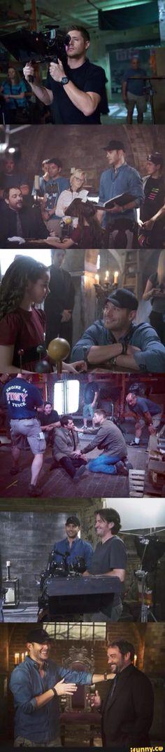 Jensen Ackles directing