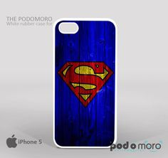 Superman Logo On Wood for iPhone 4/4S, iPhone 5/5S, iPhone 5c, iPhone 6, iPhone 6 Plus, iPod 4, iPod 5, Samsung Galaxy S3, Galaxy S4, Galaxy S5, Galaxy S6, Samsung Galaxy Note 3, Galaxy Note 4, Phone Case