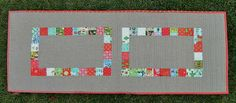 s.o.t.a.k handmade: christmas patchwork table runner {a tutorial}