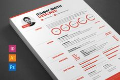 Check out Resume 2 (Save 33%) by ikono.me on Creative Market