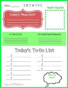 Printable Checklist Daily To Do List  Printables  Lists
