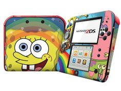 For #Nintendo 2DS Skins Skins Stickers Personalized Games Decals Protector Covers - 2DS1353-71 Nintendo 2ds, Ds Xl, Stickers, Game, Spongebob, Lunch Box, Cool Stuff, Kids, Console