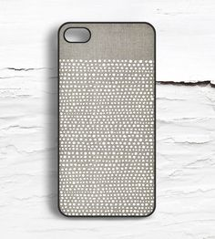 iPhone White Dot Case