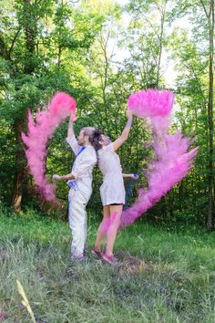 Holi festival inspired color powder shoot. Would make for fun family photos