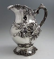 Fuchs Sterling silver antique pitcher circa 1898