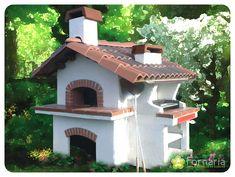 Polifemo Barbecue Pizza, Wood Oven, Garden, Outdoor Decor, Home Decor, Wood Burning Oven, Ovens, Houses, Garten