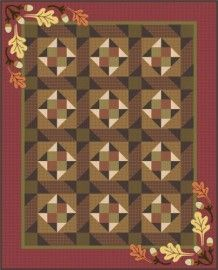 Cabin Fever Quilt Kit - Gail Kesslers Ladyfingers Sewing Studio - Fabric, Notions, Needles, Patterns and Sewing Class