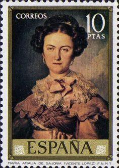 Znaczek: Painters: Vicente López y Portaña (Hiszpania) (Painters) Mi:ES 2047,Sn:ES 1779,Yt:ES 1807,Sg:ES 2210,Edi:ES 2152,Un:ES 1807