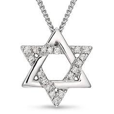 star of david necklace | star of david pendant