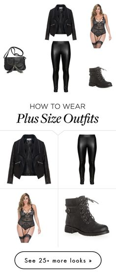 """""""im a plus size woman and i love it"""" by nicoline-anders on Polyvore featuring Studio, Zizzi, Avenue, Oh La La Cheri, women's clothing, women, female, woman, misses and juniors"""
