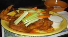 the famous wings from Moriartys!!  http://www.moriartyspub.com
