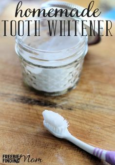 Would you like sparkling white teeth but without the high price tag or time commitment? This homemade tooth whitener is effective, inexpensive, easy to make, and easy to use. Combine just four ingredients and within a few minutes you'll have a powerful tooth whitener that will help brighten your pearly whites.