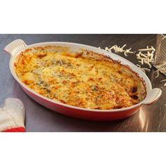 The Classic Potato Gratin Veggie Recipes, Yummy Recipes, Yummy Food, Healthy Recipes, Le Creuset Casserole Dish, Casserole Dishes, Food Dishes, Side Dishes, Dutch Oven Recipes