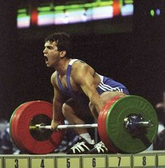 Naim Süleymanoğlu, Turkish Olympic Weightlifter - Gold Medallist at 3  consecutive Olympic Games (1988