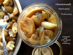 Home Cooking In Montana: Homemade Deli-Style Marinated Mushrooms