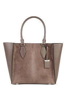 MICHAEL KORS COLLECTION Gracie leather and calf-hair tote