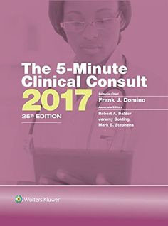 The 5 Minute Clinical Consult 2017 Griffiths Standard