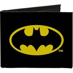 Amazon.com: Buckle-Down Men's Canvas Bi-fold Wallet - Batman... (245 ZAR) ❤ liked on Polyvore featuring men's fashion, men's bags, men's wallets, mens wallets, bi fold mens wallet, mens bifold wallet and mens canvas wallets