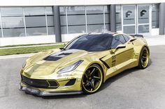 Gold Corvette on F2.21