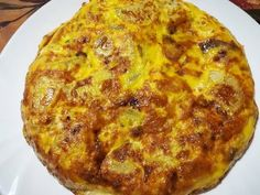 Spanyol omlett Quiche, Macaroni And Cheese, Hamburger, Bacon, Pizza, Low Carb, Cooking, Breakfast, Ethnic Recipes