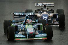 Schumacher , Hill 1994